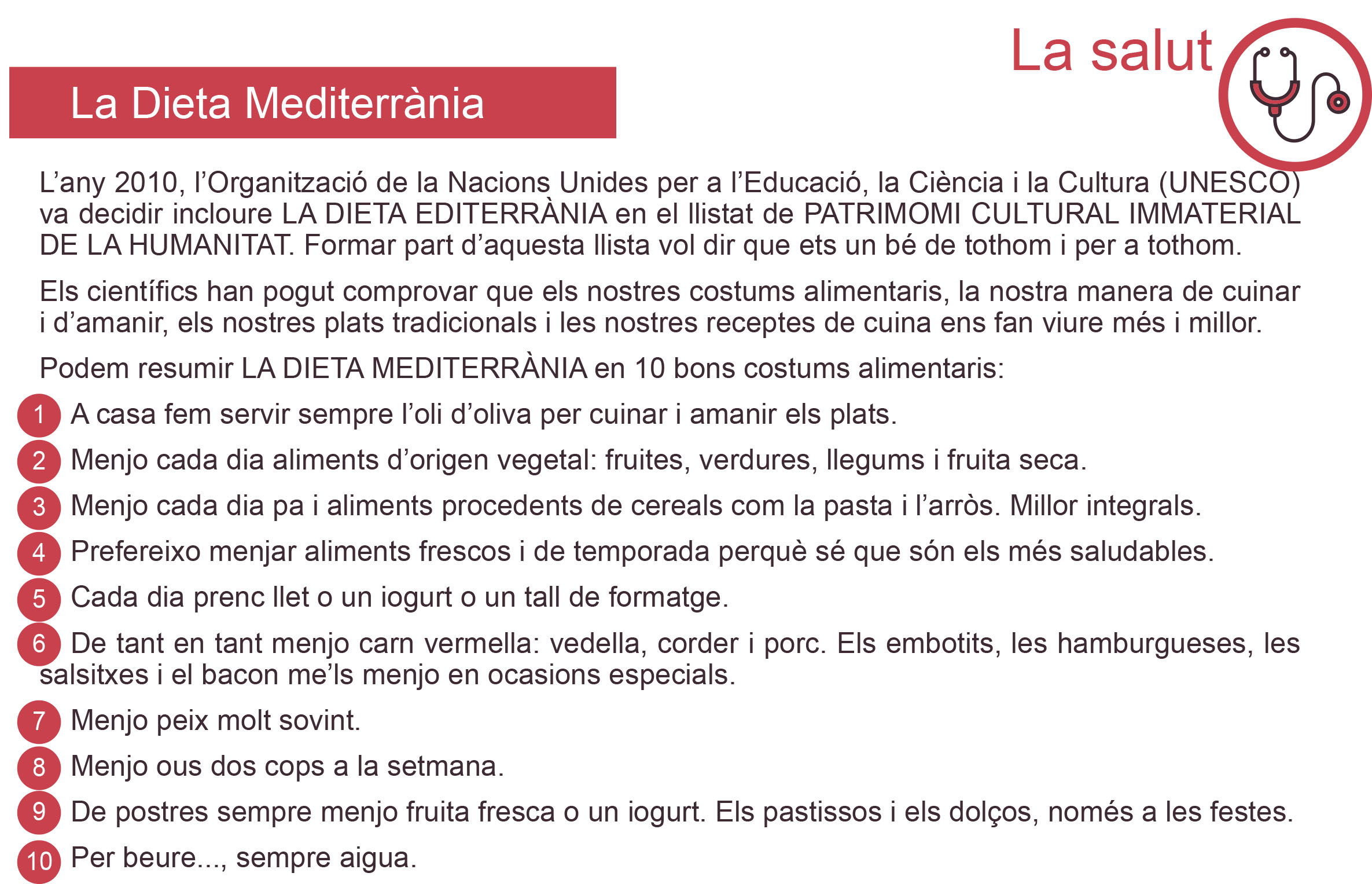 CM-3.1. La dieta mediterrània