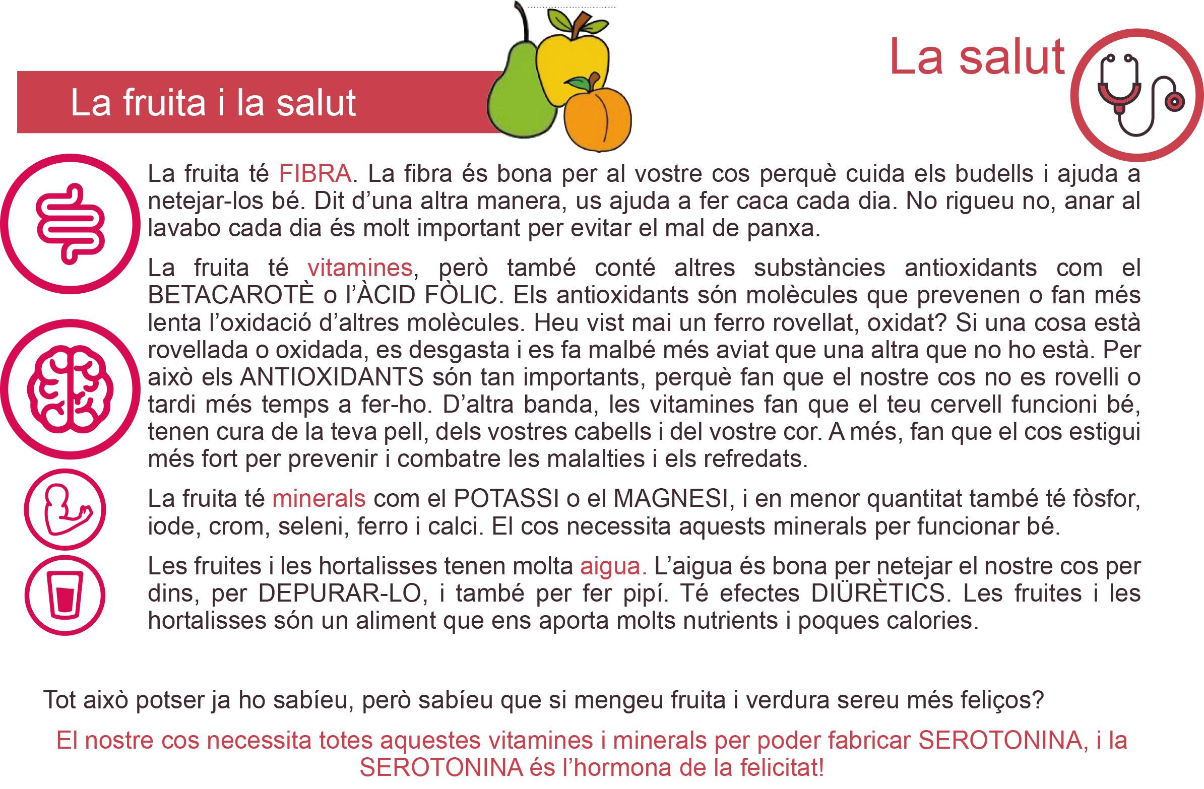 CM-3.4. Fruita i salut