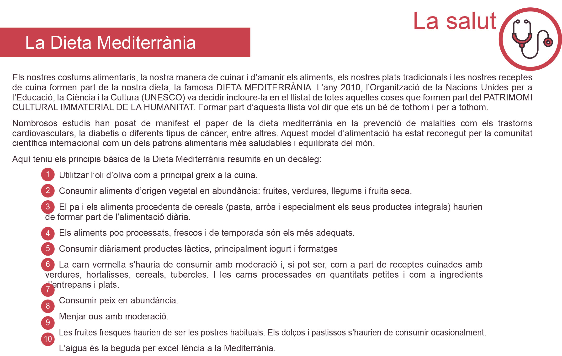 CS-3.1. La dieta mediterrània